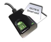 Сканер отпечатков пальцев FS82HC USB2.0 со считывателем смарт карт